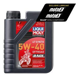 aceite sintético 5w40 4 tiempos liqui moly