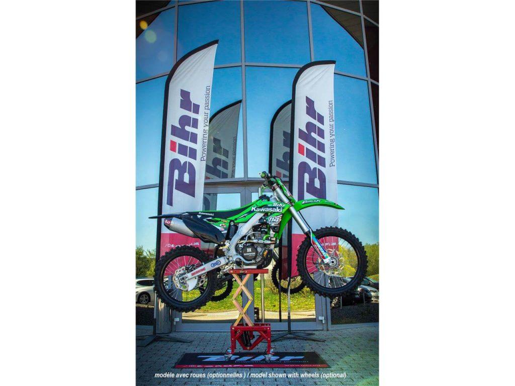 Elevador hidráulico motocross
