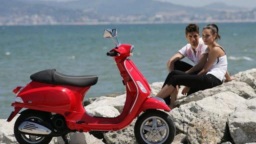 moto de alquiler en vacaciones